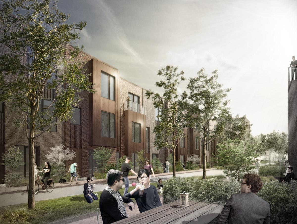 Skjøde A/S | PFA Pension - 168 boliger på Ørestad syd, Amager